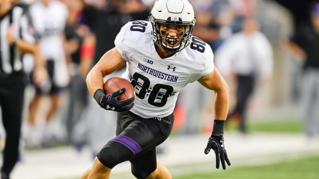 Big Ten-leading receiver. Gifted musician. Northwestern walk-on Austin Carr is not throwing away his shot