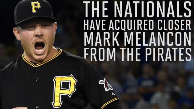 Pirates trade Mark Melancon to Nationals for Felipe Rivero, prospect--IMAGE
