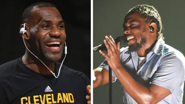 LeBron James got us a new Kendrick Lamar project -- IMAGE