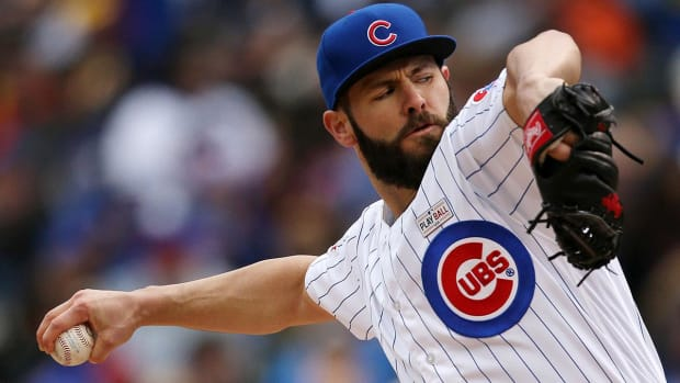 Cubs lose first Arrieta start since July 2015 --IMAGE