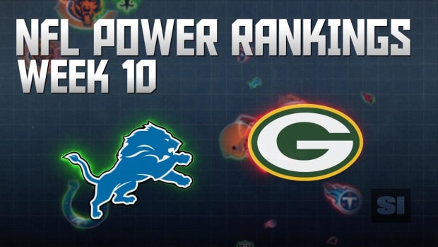 NFL Power Rankings: Week 10 IMAGE