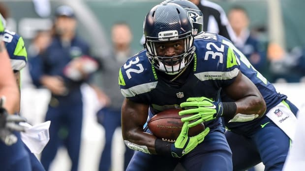 Report: Seahawks release RB Christine Michael - IMAGE