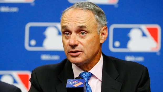 MLB commissioner Rob Manfred open to Vegas expansion - IMAGE