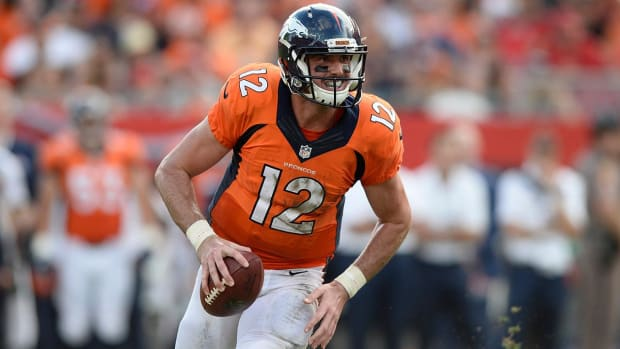 Paxton Lynch to get first NFL start Sunday--IMAGE