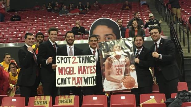 Meet the Turgeonites: Maryland's superfans who dress up as coach Mark Turgeon