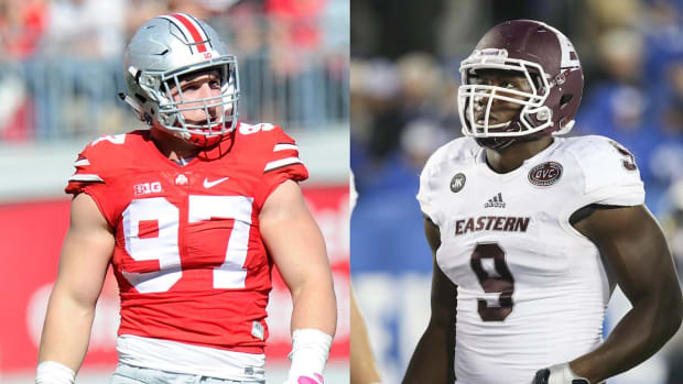 Who is the best pure pass rusher in the '16 NFL Draft? IMAGE