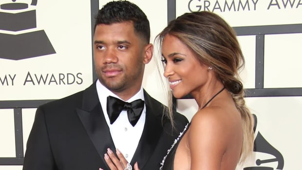 Russell Wilson is engaged to Ciara--IMAGE