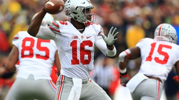 Watch: Ohio State quarterback J.T. Barrett discusses maturity, the Buckeyes offense and 2016 expectations