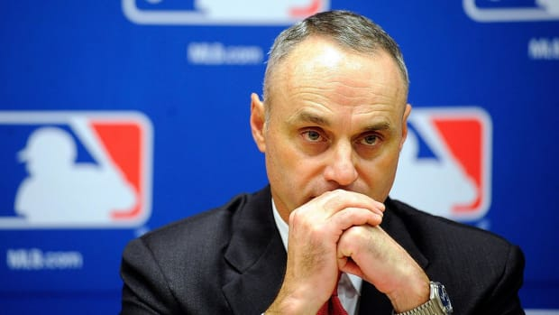 Manfred hopes for Reyes, Chapman, Puig rulings by Opening Day--IMAGE