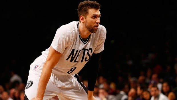 Nets waive Andrea Bargnani -- IMAGE