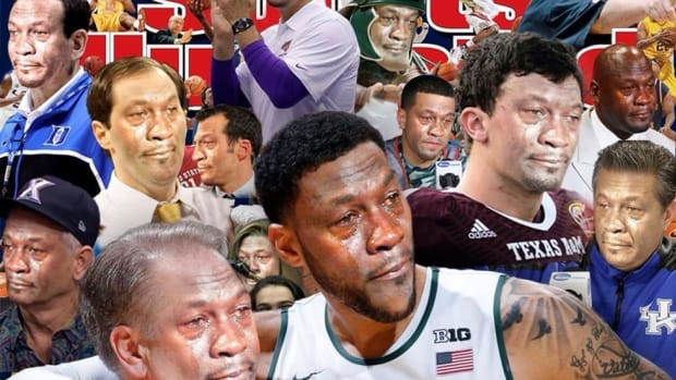 A Photoshop wizard made us a 'Crying Jordan' March Sadness cover