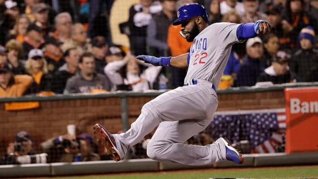 Cubs ninth inning comeback sends Chicago to NLCS - IMAGE