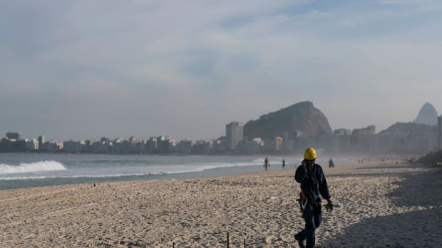 Body parts discovered on Olympic beach in Rio -- IMAGE