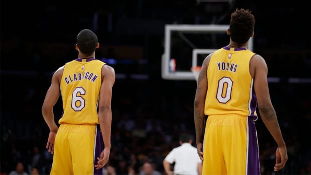 Lakers' Nick Young, Jordan Clarkson accused of sexual harassment - IMAGE