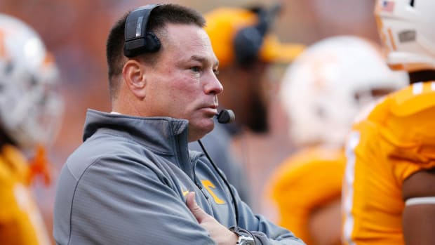 Lawsuit: Tennessee coach Butch Jones called player a 'traitor' - IMAGE