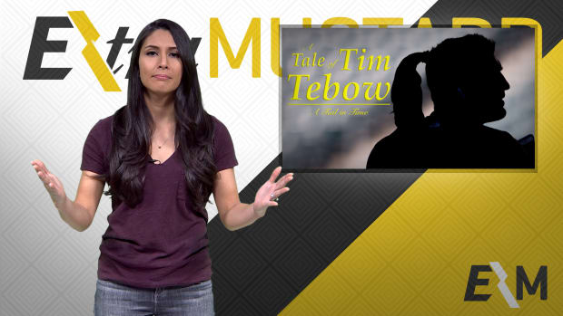 Mustard Minute: Tim Tebow with a ponytail through the years IMG