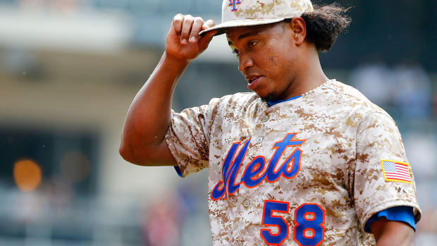 Mets' Jenrry Mejia suspended permanently MLB for third positive PED test IMAGE