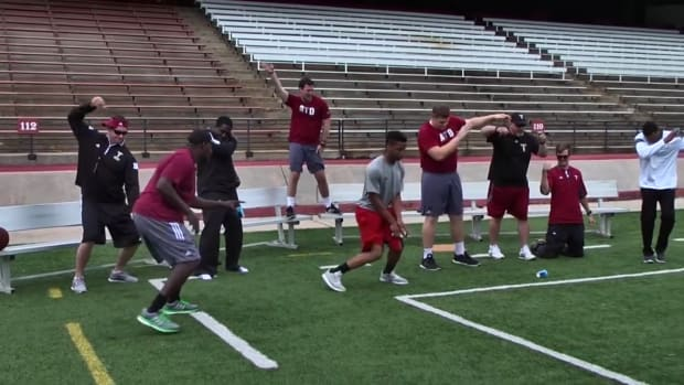 Mustard Minute: Troy Trojans coaching staff dances very awkwardly in video IMG