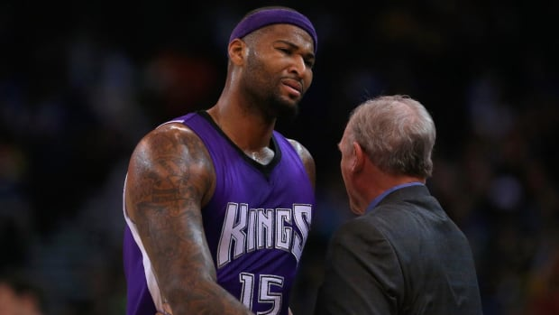 Kings suspend DeMarcus Cousins for one game--IMAGE