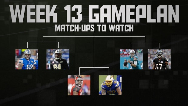 NFL's Week 13 Gameplan IMAGE