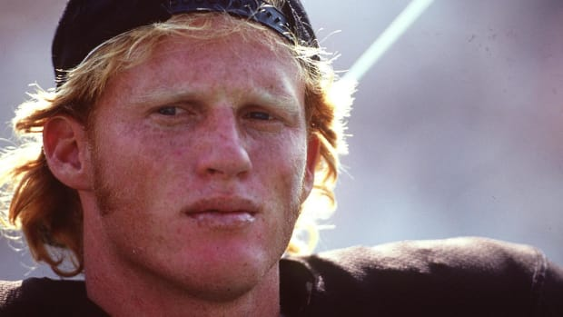 Ex-Raiders QB Todd Marinovich charged with meth possession, public nudity -- IMAGE