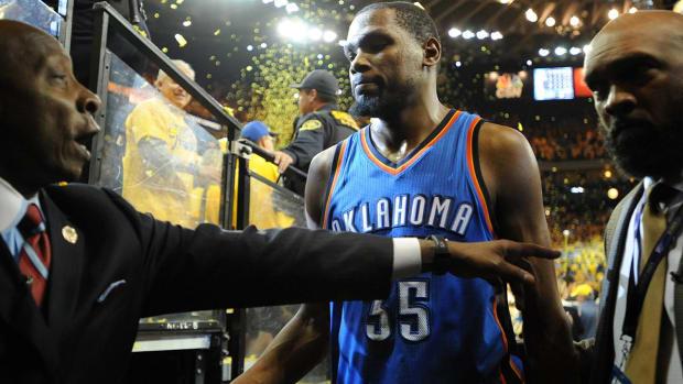 Andre Iguodala said Thunder were best team in playoffs - IMAGE
