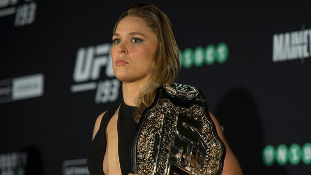 Ronda Rousey says MMA is 'most responsible' form of violence - IMAGE