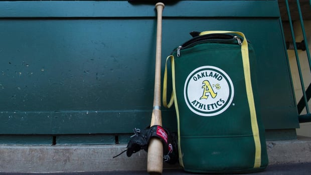 Report: A's employee spied on players with hidden camera -- IMAGE
