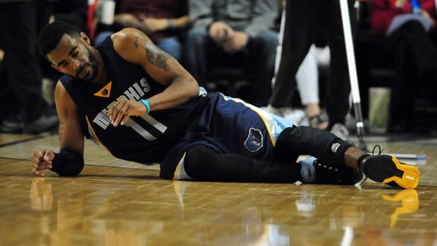Memphis Grizzlies G Mike Conley out next 3-4 weeks - IMAGE