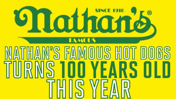 Happy 100th Nathan's Hot Dogs - IMAGE