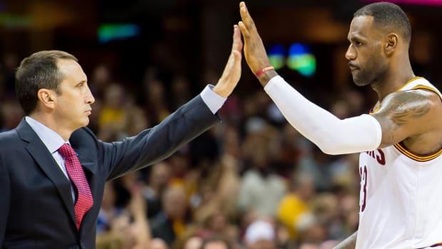 David Blatt congratulates Cavs on 'historic' NBA championship--IMAGE