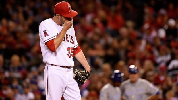 Angels' Nick Tropeano has UCL tear in right elbow - IMAGE