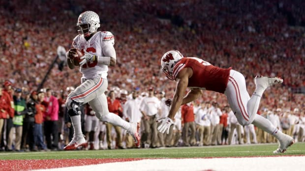No. 2 Ohio State outlasts No. 8 Wisconsin in overtime--IMAGE