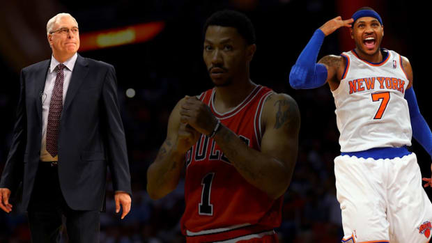 Phil Jackson: Derrick Rose trade 'reinvigorating' for Carmelo Anthony - IMAGE