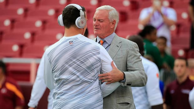 Browns owner Jimmy Haslam says relationship with Johnny Manziel can be fixed IMAGE