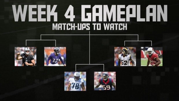 NFL's Week 4 Gameplan IMAGE