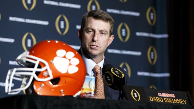 Dabo Swinney on the importance of adding weapons IMAGE