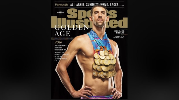 Behind the scenes: Michael Phelps cover shoot IMAGE