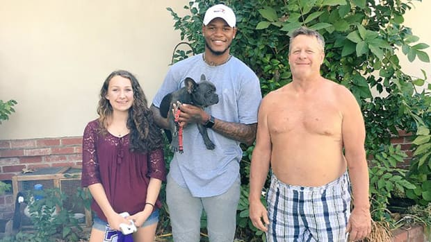 Ben McLemore was reunited with his puppy after asking Twitter for help IMAGE