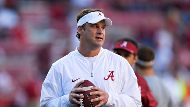 Lane Kiffin is having another banner year at Alabama, but will his turbulent history cost him a major coaching job?
