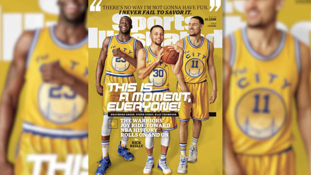 Behind the Shoot: Golden State Warriors cover shoot IMAGE