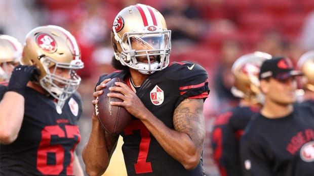49ers, Colin Kaepernick restructure contract - IMAGE