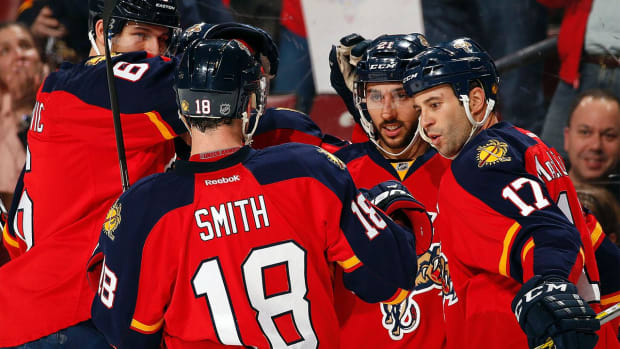 Florida Panthers acquire Jiri Hudler, Teddy Purcell in trades - IMAGE