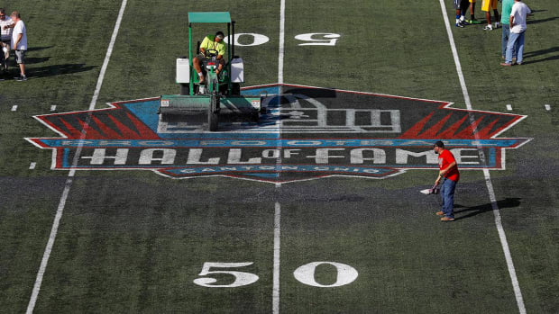 NFL Hall of Fame Game canceled due to poor field conditions - IMAGE