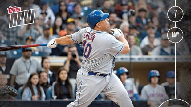 Bartolo Colon home run baseball card shatters Topps record--IMAGE