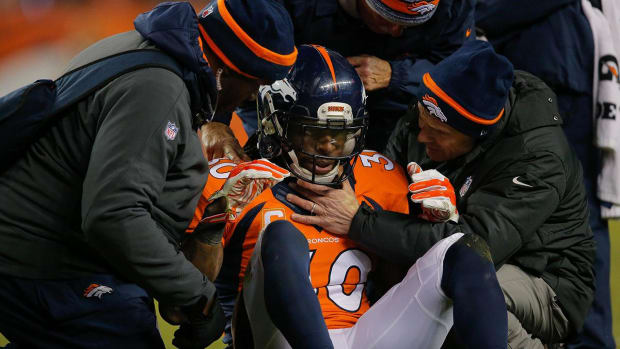 NFL data shows jump in concussions reported -- IMAGE