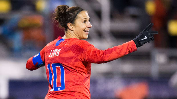 Carli Lloyd scored two goals as the USWNT beat Sweden in a friendly.