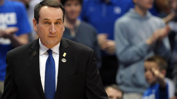 Duke coach Mike Krzyzewski apologizes for Dillon Brooks comments IMAGE