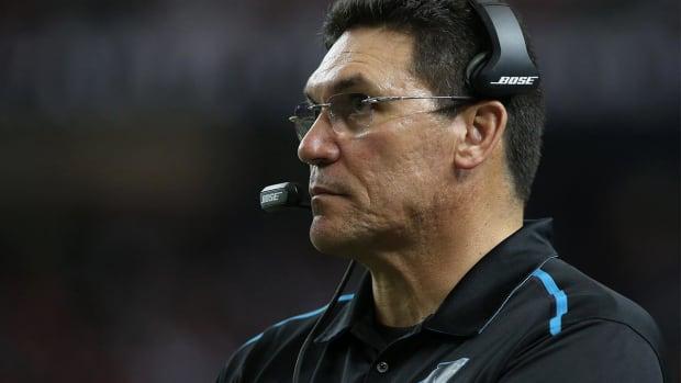 Carolina Panthers' Ron Rivera wins Coach of the Year - IMAGE