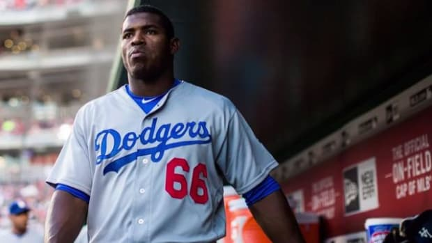 Report: Yasiel Puig not traveling with team after Dodgers fail to trade him - IMAGE